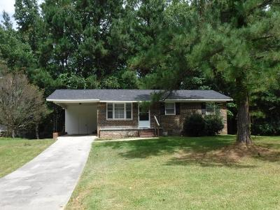 Greenwood SC Single Family Home For Sale: $72,000