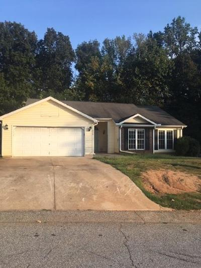 Greenwood SC Single Family Home For Sale: $69,900