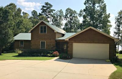 Cross Hill Single Family Home For Sale: 521 Summerset Bay Dr.