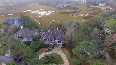 Beaufort County Single Family Home For Sale: 4 Sams Point Lane