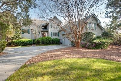 Beaufort County Single Family Home For Sale: 8 Sams Point Lane