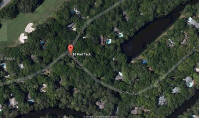 Hilton Head Island Residential Lots & Land For Sale: 86 Port Tack