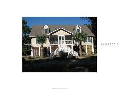 Saint Helena Island Single Family Home For Sale: 7 Vista Boulevard W
