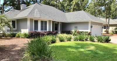 Palmetto Hall Single Family Home For Sale: 6 Cherry Hill Lane