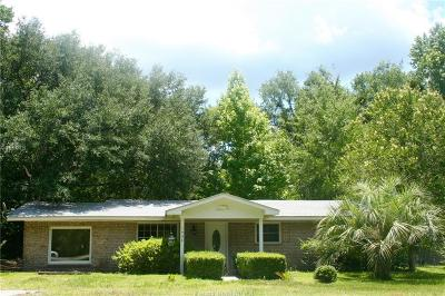 Jasper County Single Family Home For Sale: 1934 Carters Mill Road