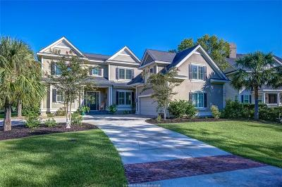 Hilton Head Island Single Family Home For Sale: 3 Chestnut Lane