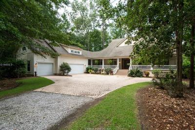 Okatie Single Family Home For Sale: 38 Spring Island Drive