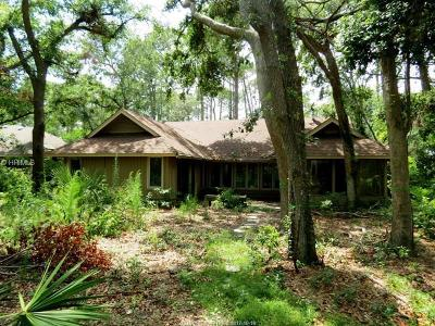 Beaufort County Single Family Home For Sale: 7 Barony Ln
