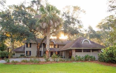 Hilton Head Island Single Family Home For Sale: 100 Baynard Cove Road
