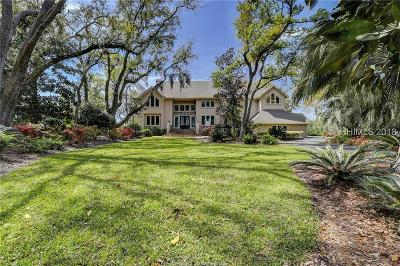 Beaufort County Single Family Home For Sale: 12 Brams Point Road
