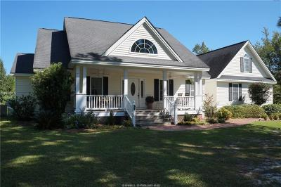 Jasper County Single Family Home For Sale: 8649 Tarboro Road