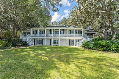 Beaufort Single Family Home For Sale: 115 Verdier Road