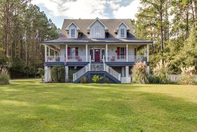 Jasper County Single Family Home For Sale: 460 W Branch Road