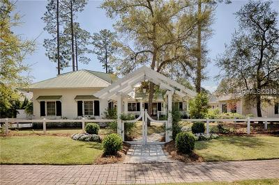 Palmetto Bluff Single Family Home For Sale: 22 Wolf Tree Road
