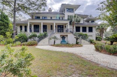 Beaufort County Single Family Home For Sale: 14 Wedgewood Circle