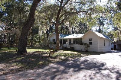 Bluffton, Okatie Single Family Home For Sale: 11 Myrtle Island Road