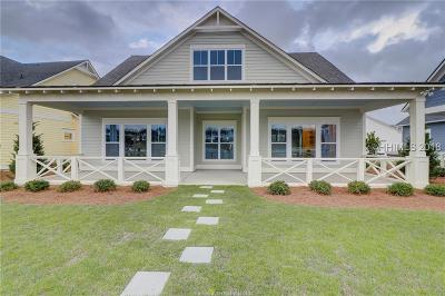 Bluffton Single Family Home For Sale: 214 Castaway Drive