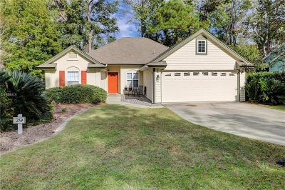 Hilton Head Island Single Family Home For Sale: 29 Chinaberry Cir