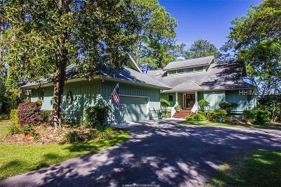 Saint Helena Island Single Family Home For Sale: 157 Dataw Drive