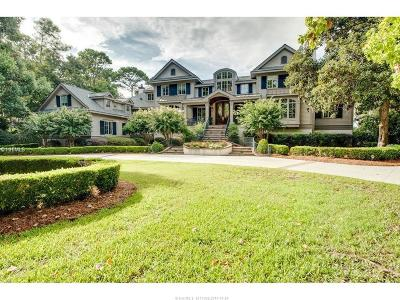 Beaufort County Single Family Home For Sale: 4 S Calibogue Cay Road