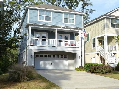 Beaufort County Single Family Home For Sale: 13 Jarvis Creek Way