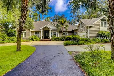 Beaufort County Single Family Home For Sale: 33 Widewater Road