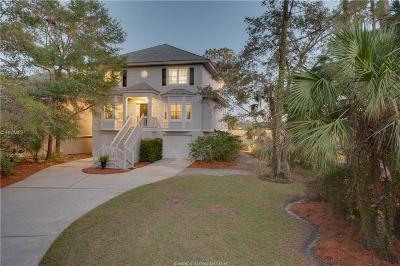 Beaufort County Single Family Home For Sale: 20 Bayley Point Lane