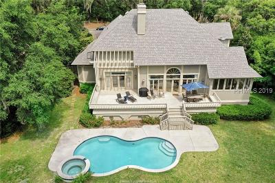 Hilton Head Island Single Family Home For Sale: 79 Plantation Drive