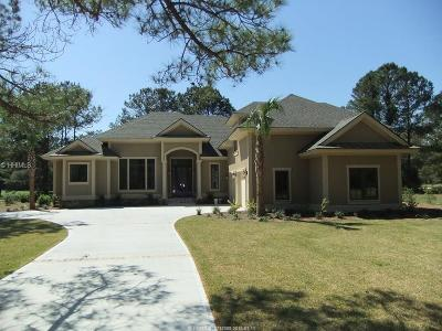 Beaufort County Single Family Home For Sale: 7 Millbrook Court