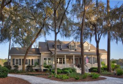 Beaufort County Single Family Home For Sale: 3 Osprey Links Drive