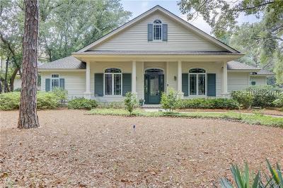 Hilton Head Island Single Family Home For Sale: 5 Heyward Place