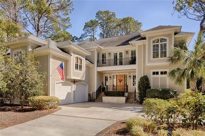 Hilton Head Island Single Family Home For Sale: 17 Wood Ibis Rd