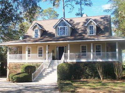 Hilton Head Island Single Family Home For Sale: 9 E Blue Heron Pt