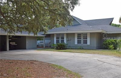 Fripp Island Single Family Home For Sale: 645 SE Dolphin Road