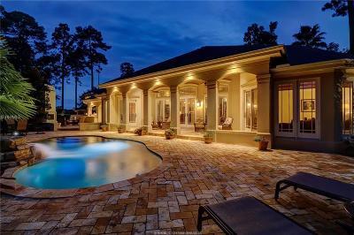 Single Family Home For Sale: 253 Belfair Oaks Blvd