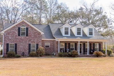 Hardeeville Single Family Home For Sale: 498 Pine Arbor Road