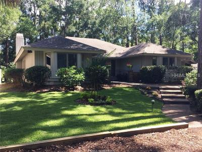 Beaufort County Single Family Home For Sale: 2 Wood Duck Court