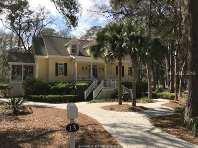 Daufuskie Island SC Single Family Home For Sale: $575,000