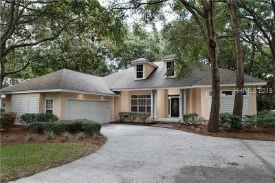 Palmetto Hall Single Family Home For Sale: 9 Wildbird Lane
