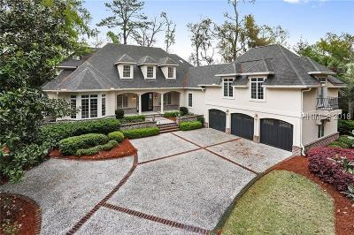 Colleton River Single Family Home For Sale: 7 Laurel Hill Court