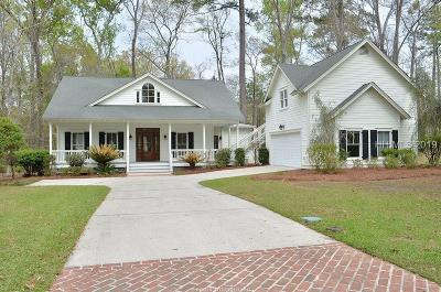 Oldfield Single Family Home For Sale: 32 Indigo Plantation Road