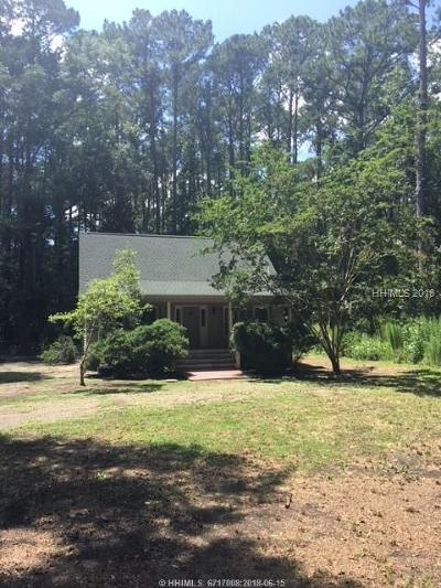 Bluffton SC Single Family Home For Sale: $287,950