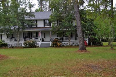 Beaufort Single Family Home For Sale: 3502 Morgan River Drive S