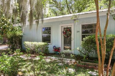 Beaufort County Single Family Home For Sale: 20 Shad Avenue