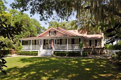 Beaufort Single Family Home For Sale: 509 Pinckney St