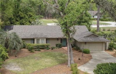 Beaufort County Single Family Home For Sale: 3 Sylvan Lane