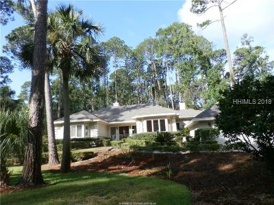 Hilton Head Island Single Family Home For Sale: 1 Hobnoy Court