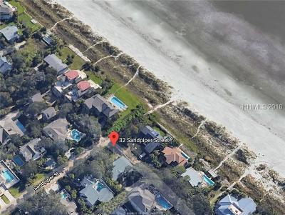 Beaufort County Single Family Home For Sale: 32 Sandpiper Street