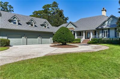 Colleton River Single Family Home For Sale: 5 Laurel Hill Court