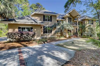 Palmetto Hall Single Family Home For Sale: 7 Hatteras Court
